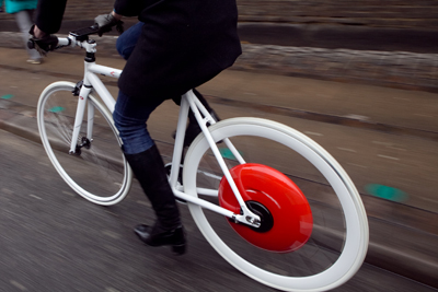 Copenhagen Wheel, courtesy MIT
